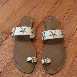 Miss Trish of Capri x target starfish sandals